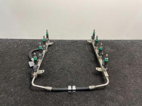 BMW 5 6 7 X5 N63B48B Injectoren + Rail
